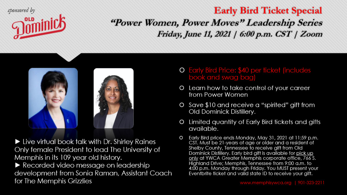 power women event flyer