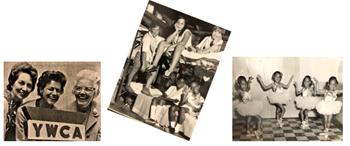 historical photo arrangement