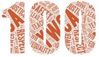 100 year anniversary logo