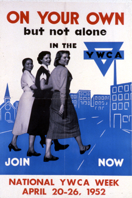 historical ywca poster